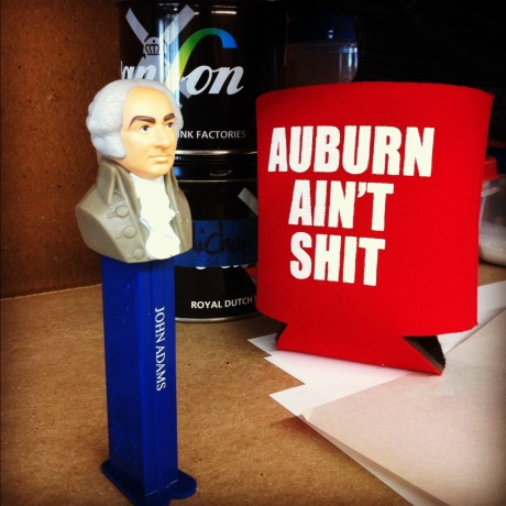 Well, you know it's true. Even Pez John Adams thinks so. Roll Tide.